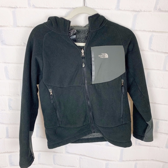 f4166a78a The North Face Black Fleece Jacket Zip Up